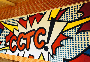 Caddo Career & Technology Center Mural