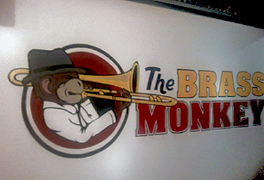 The Brass Monkey Mural
